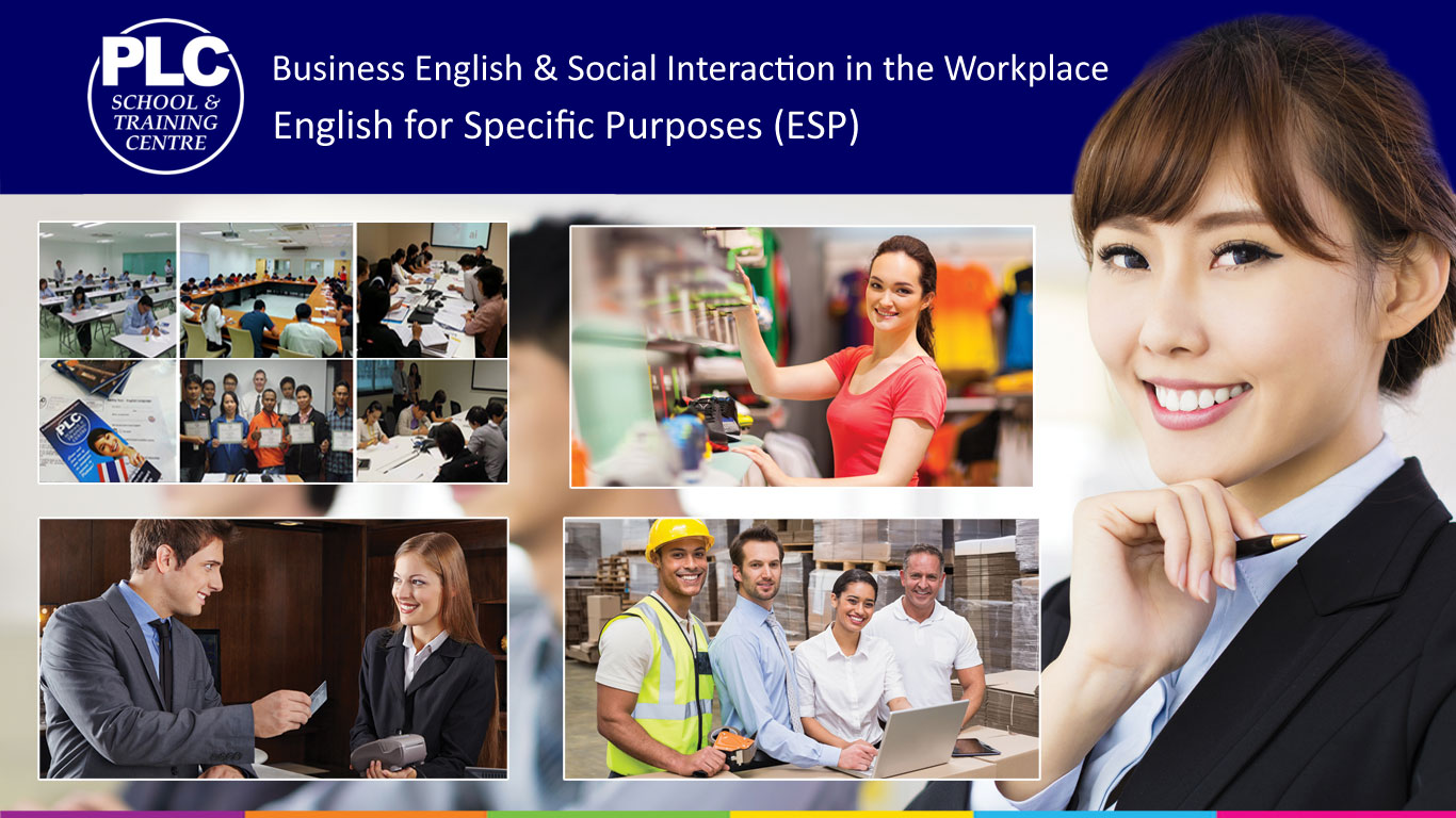 Business English and ESP at PLC School