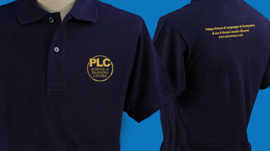 PLC School Polo Shirts